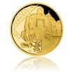 Zlatá mince 5000 Kč 2017 Pernštejn proof