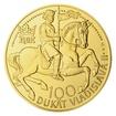 Zlatý 100dukát Vladislava II. stand