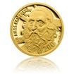 Zlatá medaile Pocta O.Kulhánkovi - J.A.Komenský - motiv bankovky 200 Kč proof