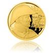 Zlatá uncová medaile Dějiny válečnictví - Bitva u Waterloo proof