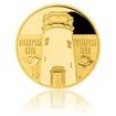 Zlatá uncová medaile Rozhledna Biskupská kupa proof