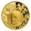 Zlatá uncová medaile Dějiny válečnictví - Bitva u Lützenu proof