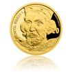 Zlatá medaile s motivem 20 Kč bankovky - Přemysl Otakar I. proof