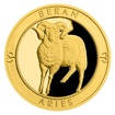 Zlatý dukát Znamení zvěrokruhu - Beran proof