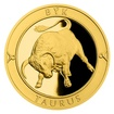 Zlatý dukát Znamení zvěrokruhu - Býk proof