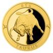 Zlatý dukát Znamení zvěrokruhu s věnováním - Býk proof