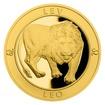 Zlatý dukát Znamení zvěrokruhu s věnováním - Lev proof
