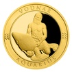 Zlatý dukát Znamení zvěrokruhu s věnováním - Vodnář proof