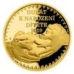 Zlatý dukát k narození dítěte 2019 s věnováním proof