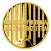 Zlatá čtvrtuncová medaile Příběhy naší historie - Masarykova univerzita Brno proof