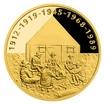 Zlatá čtvrtuncová medaile Příběhy naší historie - Svaz junáků - skautů RČS proof