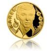 Zlatá půluncová číslovaná medaile Karel Gott - Zpěvák proof