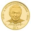 Zlatá půluncová medaile Karel Gott proof