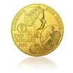 Zlatá investiční mince 100dukát Jan Amos Komenský stand