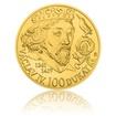 Zlatá investiční mince 100dukát Václava IV. stand