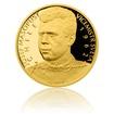 Zlatá čtvrtuncová mince Josef Masopust proof
