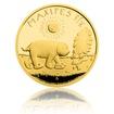 Zlatá mince Maxipes Fík proof