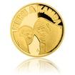 Zlatá mince Gorilí povídání proof