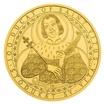 Zlatá investiční mince 100dukát sv. Víta stand