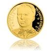 Zlatá čtvrtuncová mince Miroslav Kadlec proof
