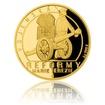 Zlatá čtvrtuncová mince Reformy Marie Terezie - vojenská proof