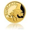 Zlatá mince Rumcajs proof