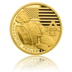 Zlatá mince Válečný rok 1942 - Projekt Manhattan proof