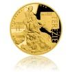 Zlatá dvouuncová investiční mince Marie Terezie a Josef II. proof