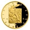 Zlatá mince Převratné osmičky našich dějin - 1948 Vítězný únor proof