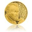 Zlatá půluncová mince Gustav Klimt proof