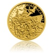 Zlatá mince Válečný rok 1943 - Bitva o Guadalcanal proof