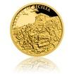 Zlatá mince Válečný rok 1943 - Invaze na Sicílii proof