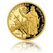 Zlatá mince Doba Jiřího z Poděbrad - Diplomat míru proof