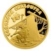 Zlatá mince Pohádky z mechu a kapradí - Pařezová chaloupka proof