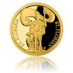 Zlatá mince Patroni - Svatý Florián proof