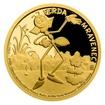 Zlatá mince Ferda Mravenec proof