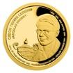 Zlatá čtvrtuncová mince České tenisové legendy - Jaroslav Drobný proof