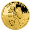 Zlatá mince Ferda a Beruška proof