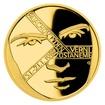 Zlatá mince Cesta za svobodou - Palachův týden proof