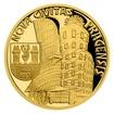 Zlatá čtvrtuncová mince Vznik královského hlavního města Praha - Nové Město pražské proof