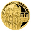 Zlatá čtvrtuncová mince Vznik královského hlavního města Praha - Malá Strana proof