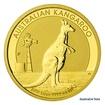 Zlatá investiční mince 1/4 Oz 25 AUD Austrálie - klokan proof