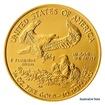 Zlatá investiční 1/4 Oz mince 10 USD American Eagle stand