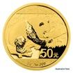Zlatá investiční mince 3 g 50 Yuan Panda proof