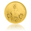 Zlatá investiční mince 1/4 Oz Star Wars Han Solo proof