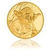 Zlatá investiční mince 1/4 Oz Star Wars Yoda proof