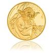 Zlatá investiční mince 1 Oz Star Wars Yoda proof