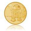 Zlatá investiční mince 1/4 Oz Star Wars R2-D2 proof