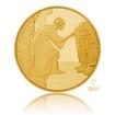 Zlatá investiční mince 1/4 Oz Star Wars princezna Leia proof