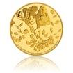 Zlatá mince 0,5 g Mickey Mouse Tornádíčko proof